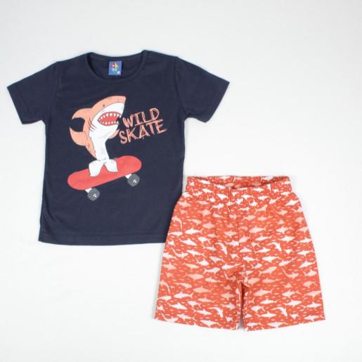 Conjunto Masculino Camiseta e Bermuda Tactel 135241 - Pipa