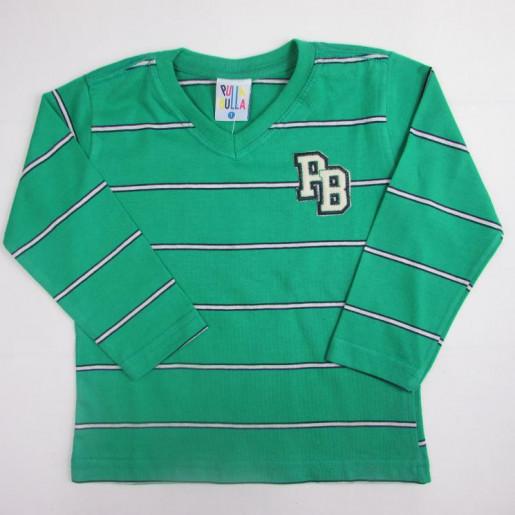 Camiseta Manga longa Listrada 34254 - Pulla Bulla