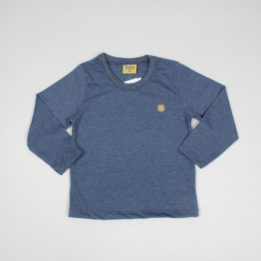 Camiseta Manga Longa Básica 9200-2 - Rolú