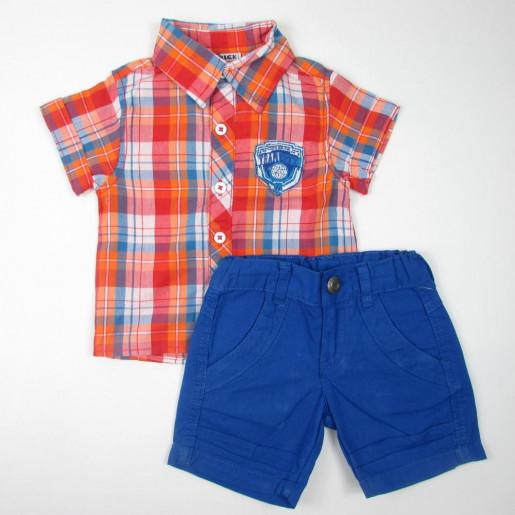Conjunto Masculino com Camisa Xadrez 108677 - Trick Nick