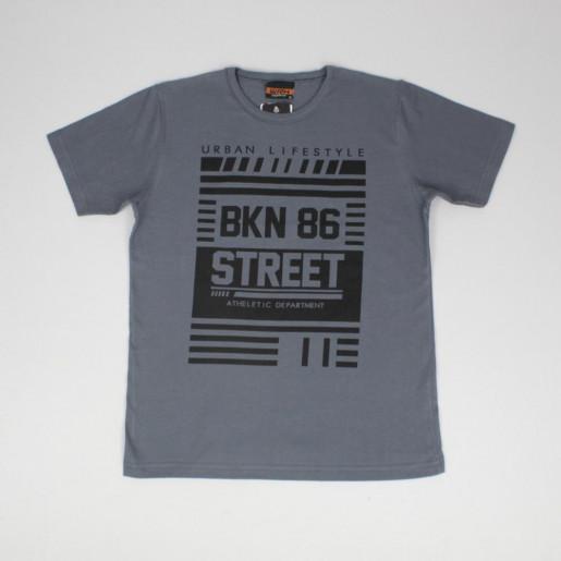 Camiseta Manga Curta Estampada Street 51909 - Wrk