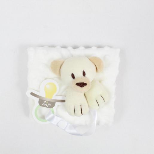 Toalha de Boca Cheirinho Plush Urso Bolhas - Zip Toys